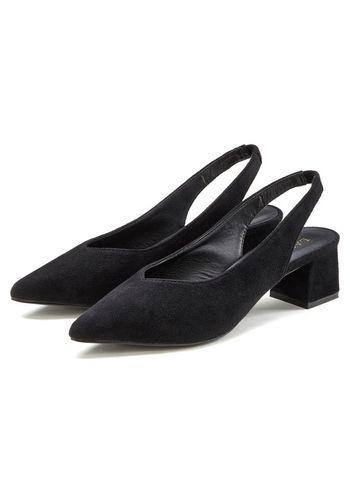 Туфли с открытой пяткой LASCANA