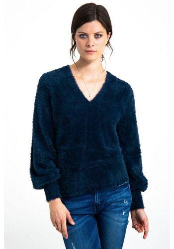 Пуловер с V-образным воротом Garcia