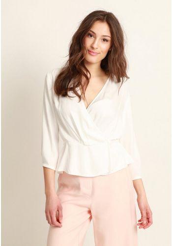 Блуза с запахом Mavi
