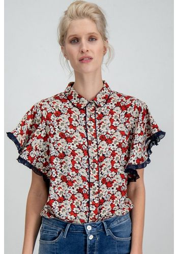 Кружевная блуза Garcia