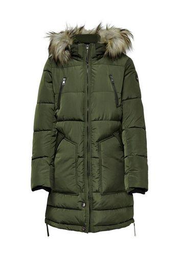 Стеганое пальто Only