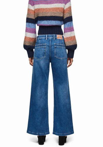 Широкие джинсы Pepe Jeans