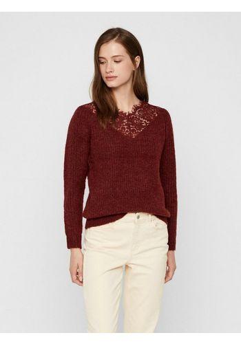 Пуловер с V-образным воротом Vero Moda