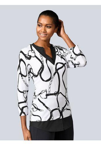 Пуловер с V-образным воротом Alba Moda