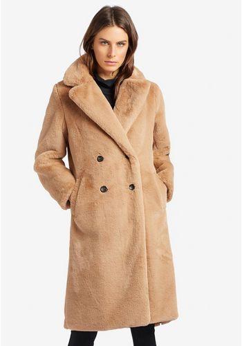 Куртка с искуственным мехом khujo