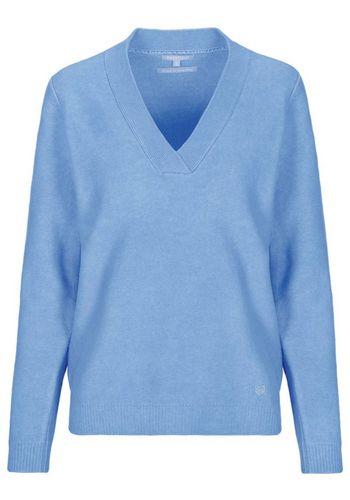 Пуловер с V-образным воротом BASEFIELD