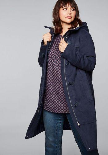 Пальто на пуговицах Sheego