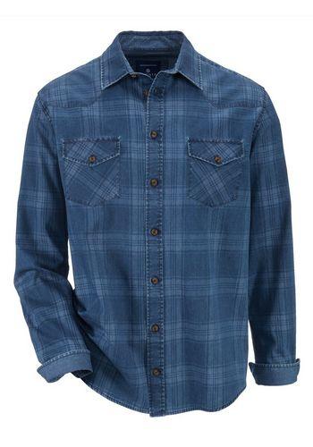 Джинсовая рубашка Babista