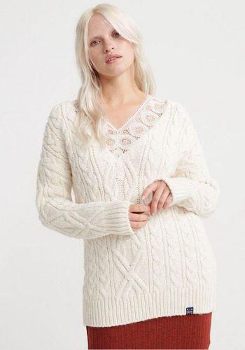 Пуловер с V-образным воротом Superdry