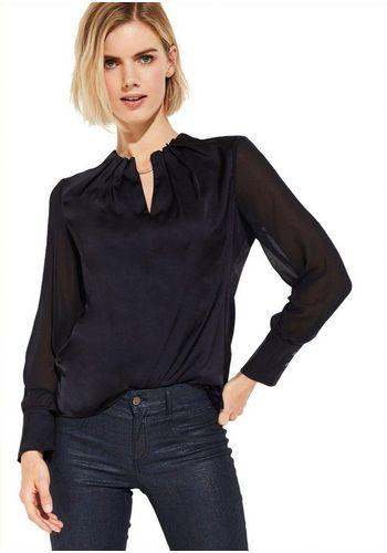 Сатиновая блузка Comma