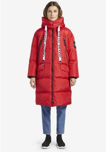 Стеганое пальто khujo