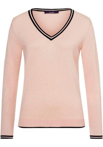 Пуловер с V-образным воротом Laurèl