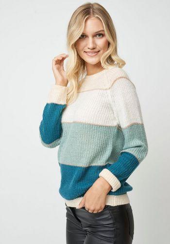 Пуловер в полоску soyaconcept