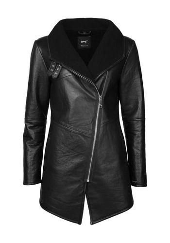 Пальто из кожи и кожезаменителя Maze