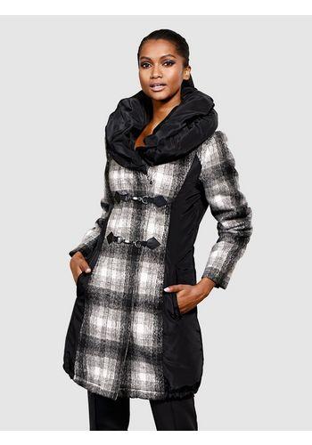 Стеганое пальто Alba Moda