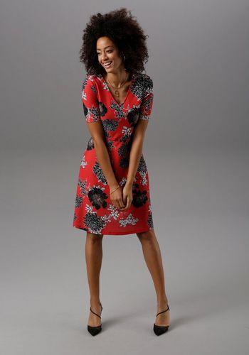 Трикотажное платье Aniston SELECTED