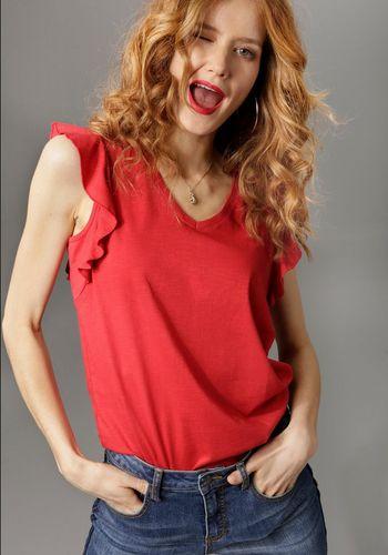 Кофта с V-образным вырезом Aniston CASUAL