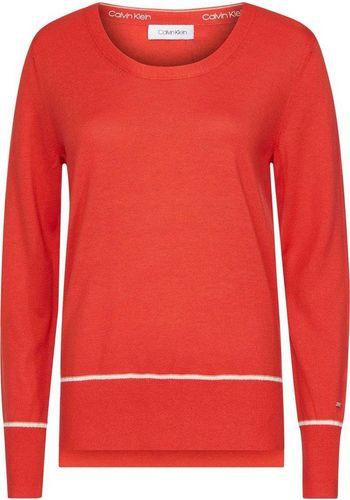 Пуловер с круглым воротом Calvin Klein