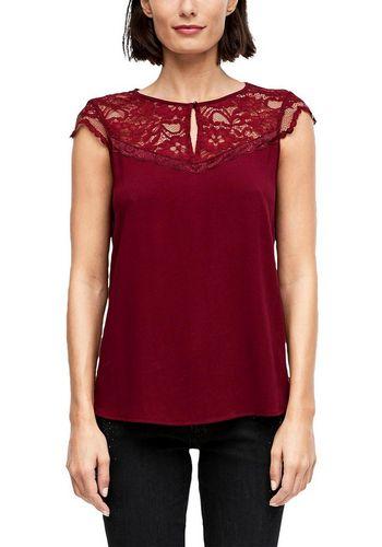 Кружевная блуза s.Oliver