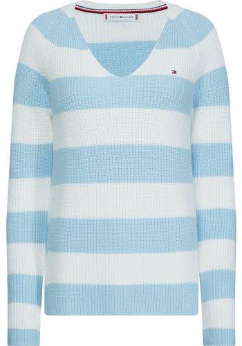 Пуловер с V-образным воротом TOMMY HILFIGER