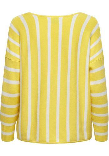 Пуловер с V-образным воротом Only
