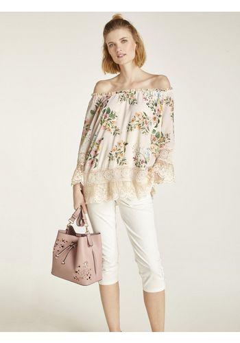 Кружевная блуза heine
