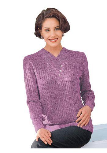 Пуловер с V-образным воротом Classic