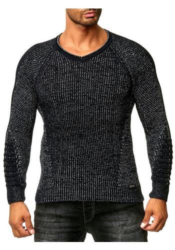 Пуловер с V-воротником Rusty Neal