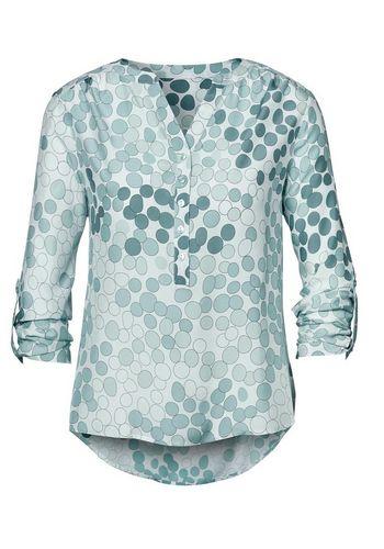 Шелковая блуза creation L