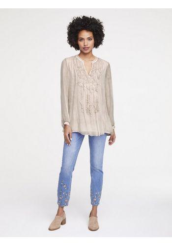 Шелковая блуза heine