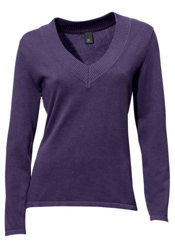 Пуловер с V-образным воротом RICK CARDONA by Heine