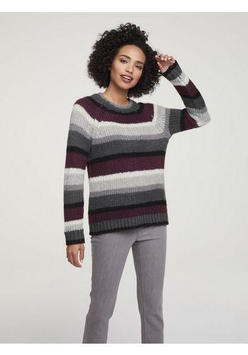 Пуловер в полоску heine