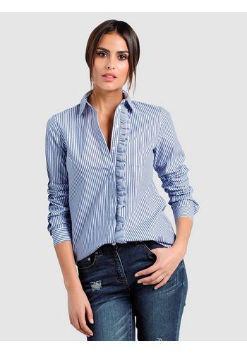Блузка с рюшами Alba Moda