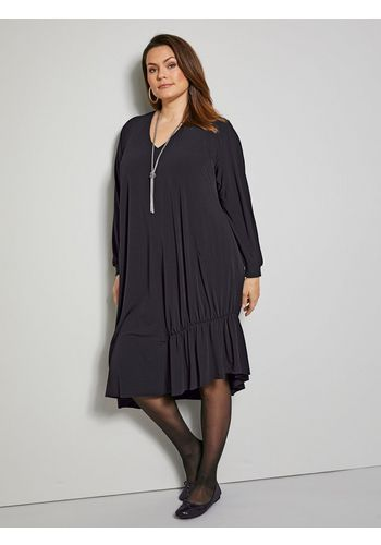 Трикотажное платье Sara Lindholm by Happy Size