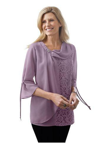 Кружевная блуза Classic Basics