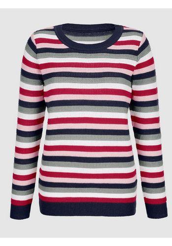 Пуловер в полоску Dress In