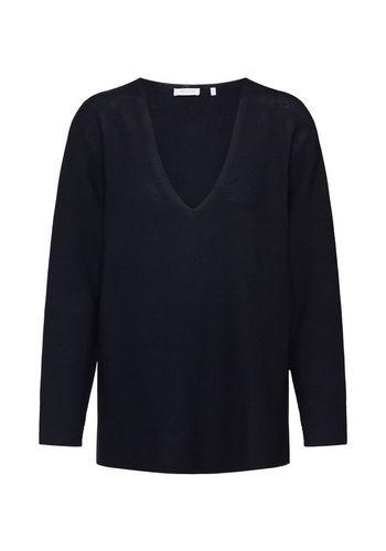 Пуловер с V-образным воротом Rich & Royal