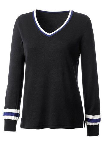 Пуловер с V-образным воротом Classic Inspirationen