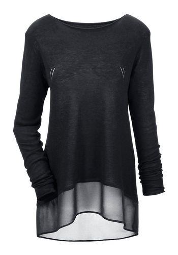 Пуловер с круглым воротом Aniston CASUAL