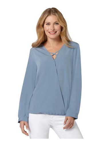 Блуза с запахом Classic Inspirationen