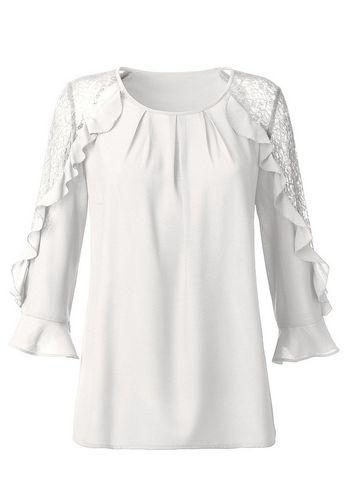 Кружевная блуза Alessa W.