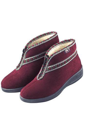 Тёплая домашняя обувь Classic