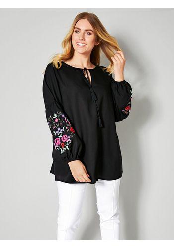 Классическая блузка Sara Lindholm by Happy Size