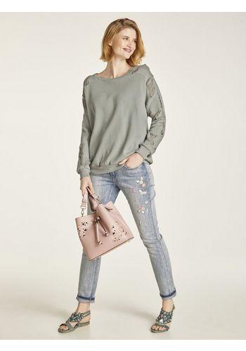 Рваные джинсы heine
