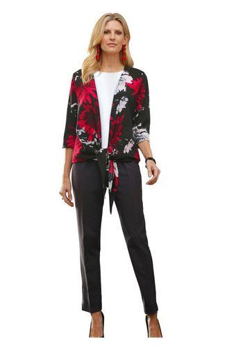 Блуза с запахом Classic Basics