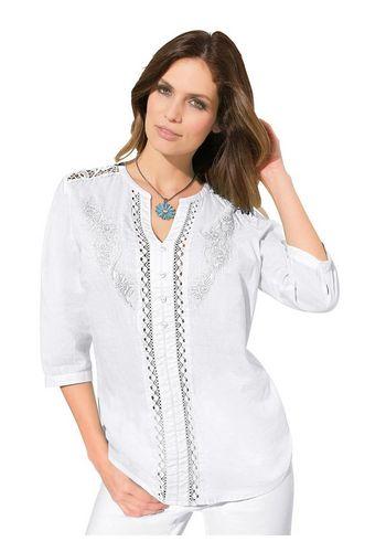 Кружевная блуза Lady