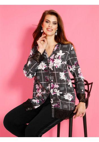 Блузка с рисунком m. collection