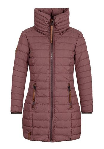 Стеганое пальто naketano
