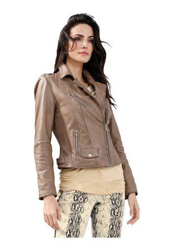 Кожаная куртка Amy Vermont