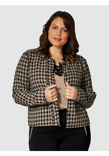 Короткий пиджак Sara Lindholm by Happy Size